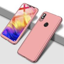 Capa Case Proteção 360 Samsung Galaxy A50 - Rosa - Oem