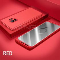 Capa Case Proteção 360 Samsung Galaxy S9 Plus - Vermelho - Oem