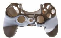 Capa Case Protetora de Silicone Gel Para Controle Playstation 4 Ps4 Cores Camuflada e Lisa FEIR FR-2 -