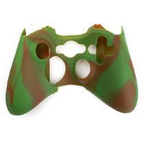 Capa Case Protetora de Silicone Gel Para Controle Xbox 360 Cores Camuflada e Lisa FEIR FR-314M -