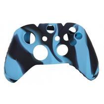 Capa Case Protetora de Silicone Gel Para Controle Xbox One Camuflada Azul e Preto FEIR FR-314-1M -