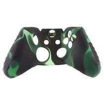 Capa Case Protetora de Silicone Gel Para Controle Xbox One Camuflada Verde e Preto FEIR FR-314-1M -