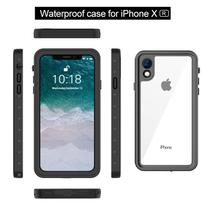 Capa Case Prova D Água Original Iphone Xr waterproof anti-quedas - Redpepper case