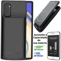 Capa case Samsung Galaxy S20 Ultra Tela 6.9 Recarregável Bateria Externa Power Carregador 6000 Mha - Global Capas