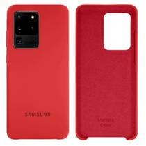 Capa Case Silicone Aveludada Samsung Galaxy S20 Ultra 6.9 Polegadas -