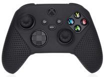 Capa Case Silicone Protetor Para Controle Xbox One Xbox Series + 2 Grip - Preto - Dobe
