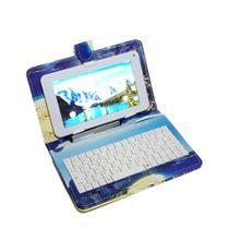 "Capa Case tablet 7"" Com Teclado Usb rio de janeiro + cabo otg + caneta - hoopson"