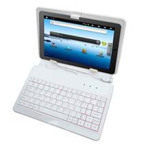 "Capa Case tablet Com Teclado Usb P/ Tablet 7"" + cabo otg + caneta - Hoopson"