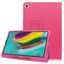 Capa Case Tablet Samsung Galaxy Tab A 8 P290 P295 T290 T295 Pasta Magnética Rosa - Fam