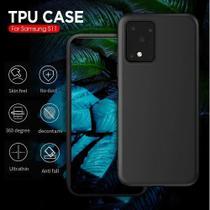 Capa Case Ultra Slim Soft Galaxy S20  Ultra - Preto Fosco - Flex