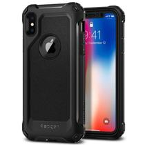 Capa Celular Spigen iPhone X Pro Guard Black - 057CS22179