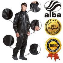 Capa Chuva Alba Daytona Masculina Cor Preto - Alba Moto