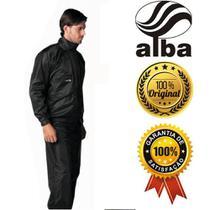 Capa Chuva Alba Nylon Masculino Cor Preto Tamanhos - Alba Moto