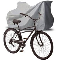 Capa Cobrir Bicicleta Bike Protetora Forrada Elástico nas Bordas Impermeável até Aro 29 - S/M