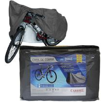 Capa Cobrir Bicicleta Bike Protetora Forrada Impermeável Elástico nas Bordas até Aro 29 Carrhel -