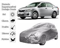Capa Cobrir Carro Corolla Forrada e 100% Impermeável Proteção sol e chuva - Zna Bezzter