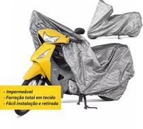 Capa Cobrir MOTO Forrada e Impermeável Tam P - Garagem12