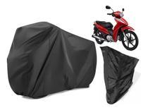 Capa Cobrir Moto Protetora Sol Chuva Impermeável Honda Biz - Oestesom