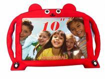 Capa com Alça Infantil Para Tablet de 10 Polegadas Universal Urso com Suporte - Fam