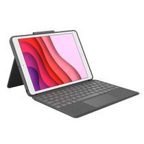 Capa com teclado e touch pad logitech p  ipad 7 gera  o -