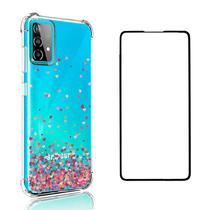 Capa Corações Samsung Galaxy A52 + Película 5D Nano Dupla-Camada - Coronitas Acessorios