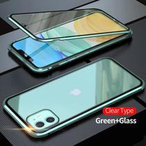 Capa Crystal Magnética iPhone 12  Verde - Oem