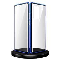 Capa Crystal Magnética Samsung Galaxy A52 - Azul - Oem