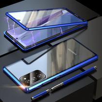 Capa Crystal Magnética Samsung Galaxy M51  Azul - Oem