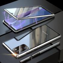 Capa Crystal Magnética Samsung Galaxy M51  Prata - Oem
