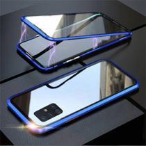 Capa Crystal Magnética Samsung Galaxy S10 Lite  Azul - Oem