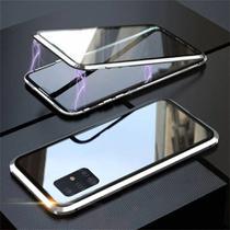 Capa Crystal Magnética Samsung Galaxy S10 Lite  Prata - Oem