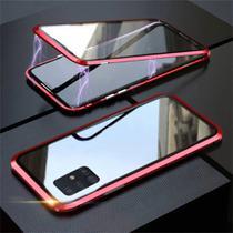 Capa Crystal Magnética Samsung Galaxy S10 Lite  Vermelho - Oem