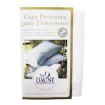 Capa Daune Protetora Impermeavel de Travesseiro Daune 100% Algodão 50x70cm -