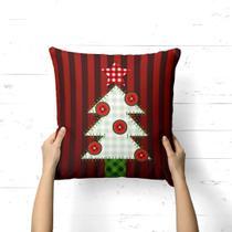 Capa de Almofada Avulsa Decorativa Arvore Natalina - Love Decor