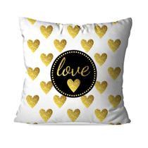 Capa de Almofada Avulsa Decorativa Geométrica Love - Love Decor
