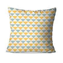 Capa de Almofada Avulsa Decorativas Triangular - Love Decor
