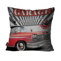 d31e5b0e2211d8 Capa de Almofada Decorativa Avulsa Cinza Carro Garage - Pump up