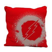 Capa de Almofada - Flash - Logo - Dc