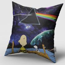 Capa de Almofada Snoopy/Pink Floyd - Sagira Personalizados