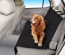 Capa De Banco Traseiro De Carro Para Cachorro Pet - Preto -