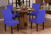 Capa De Cadeira 01 Unidades Malha Gel - Azul Royal - Rulidry