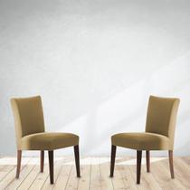 Capa de Cadeira em Malha 2 Peças Helanca - Adomes -