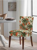 Capa de Cadeira Malha Suplex - Cor Missoni - Kit 6 Capas - Adomes