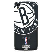 Capa de Celular NBA - Alcatel Idol 3 5.5 -  Brooklyn Nets - NBAH03 -