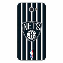 Capa de Celular NBA - Galaxy J7 Prime Brooklyn Nets - E26