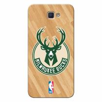 Capa de Celular NBA - Galaxy J7 Prime Milwaukee Bucks - B19