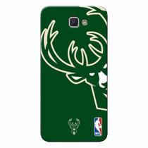 Capa de Celular NBA - Galaxy J7 Prime Milwaukee Bucks - D19
