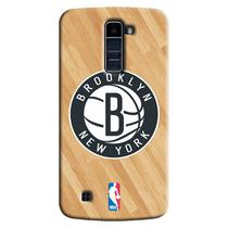 Capa de Celular NBA - LG K10 Brooklyn Nets - B03 -