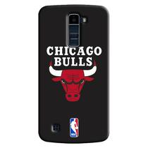 Capa de Celular NBA - LG K10 TV K430 - Chicago Bulls - A05