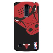 Capa de Celular NBA - LG K10 TV K430 - Chicago Bulls - D05
